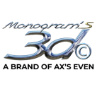 Logo monograms3d carre